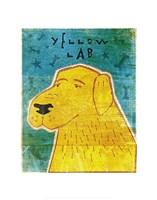 "Lab (yellow) by John W. Golden - 11"" x 14"""