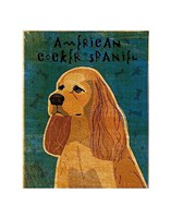 American Cocker Spaniel (buff) Fine Art Print
