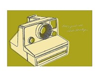 "Lunastrella Instant Camera by John W. Golden - 14"" x 11"""