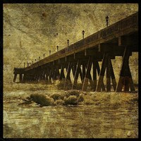 "Ocean Pier No. 2 by John W. Golden - 20"" x 20"""