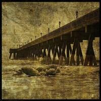 "Ocean Pier No. 2 by John W. Golden - 12"" x 12"""