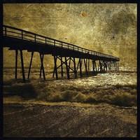 "Ocean Pier No. 3 by John W. Golden - 20"" x 20"""