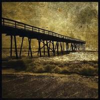 "Ocean Pier No. 3 by John W. Golden - 12"" x 12"""