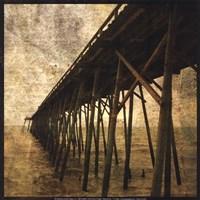 "Ocean Pier No. 1 by John W. Golden - 12"" x 12"""
