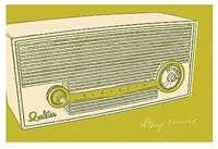 Lunastrella Radio Fine Art Print