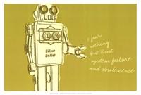"Lunastrella Robot No. 1 by John W. Golden - 19"" x 13"" - $12.99"