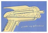 Lunastrella Raygun No. 2 Fine Art Print