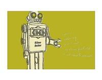 "Lunastrella Robot No. 1 by John W. Golden - 14"" x 11"" - $10.99"