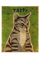 """13"""" x 19"""" Tabby Cats"""