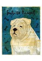 """English Bulldog by John W. Golden - 13"""" x 19"""""""