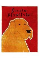 """Golden Retriever by John W. Golden - 13"""" x 19"""""""