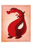 Red Dragon Fine Art Print