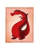 Red Dragon Fine Art Print