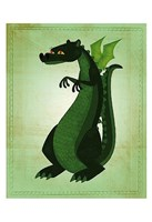 "Green Dragon by John W. Golden - 13"" x 19"""