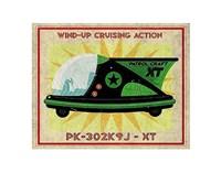 "Patrol Craft XT Box Art Tin Toy by John W. Golden - 14"" x 11"""