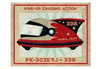 "Patrol Craft 338 Box Art Tin Toy by John W. Golden - 19"" x 13"""