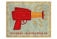 "Rayvon Star VII by John W. Golden - 19"" x 13"""