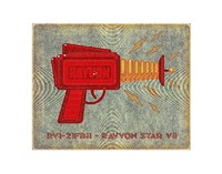 "Rayvon Star VII by John W. Golden - 14"" x 11"""