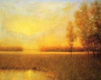 Sunrise Haze Fine Art Print
