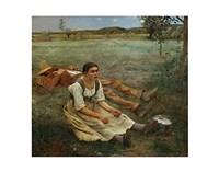 Hay Harvest, 1877 Fine Art Print