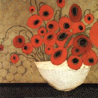 Frida's Poppies Fine Art Print