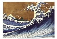 Big Wave (from 100 views of Mt. Fuji) Fine Art Print