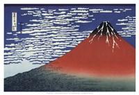 Red Fuji Fine Art Print