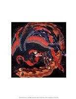 "Phoenix by Katsushika Hokusai - 11"" x 14"""
