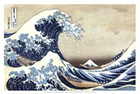 The Great Wave at Kanagawa Framed Print