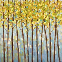 Glistening Tree Tops Fine Art Print