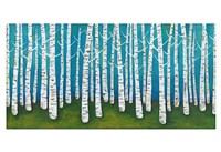 Springtime Birches Fine Art Print