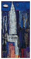 "New York Skyline by Mark Gleberzon - 26"" x 50"""