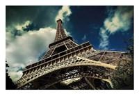 The Eiffel Tower (horizontal) Fine Art Print
