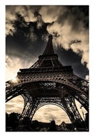 "The Eiffel Tower (vertical) by Mark Verlijdonk - 18"" x 26"""