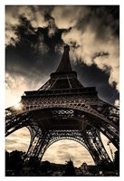 "The Eiffel Tower (vertical) by Mark Verlijdonk - 13"" x 19"""