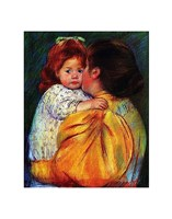 Maternal Kiss 1896 Fine Art Print