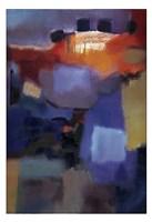"Quartet by Nancy Ortenstone - 13"" x 19"""