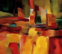 "Harmonious Space by Nancy Ortenstone - 48"" x 42"", FulcrumGallery.com brand"