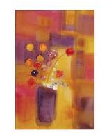 "Welcoming Flowers I by Nancy Ortenstone - 11"" x 14"""
