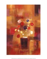 "Welcoming Flowers II by Nancy Ortenstone - 11"" x 14"""