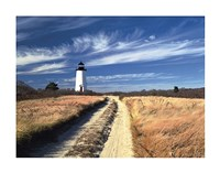 Cape Poge Lighthouse Fine Art Print