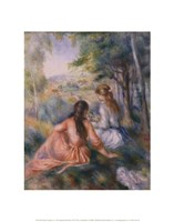 """In the Meadow by Pierre-Auguste Renoir - 11"""" x 14"""""""