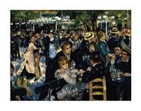 Le Moulin de la Galette 1876 Fine Art Print
