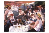 Luncheon of the Boating Party Fine Art Print