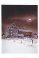 "Oley White by Ray Hendershot - 13"" x 19"""