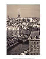 Paris Rooftops Fine Art Print