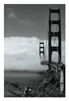 Golden Gate Fog Fine Art Print