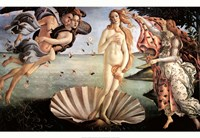The Birth of Venus Framed Print