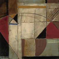 "Geometry by Seth Romero - 12"" x 12"""