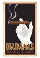 Habanas Quality Cigars Framed Print